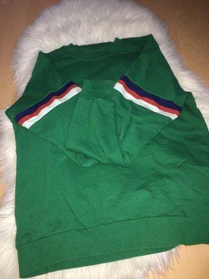 Grüner Bershka Pullover