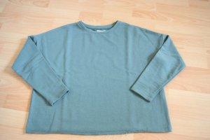 grüner dünner Sweater Pull&Bear