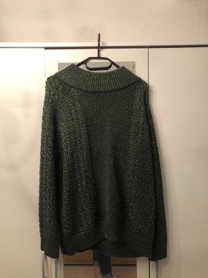 Grüner glitzer Pullover