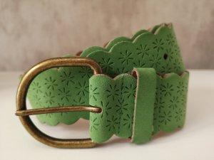 Cinturón de cadera verde hierba