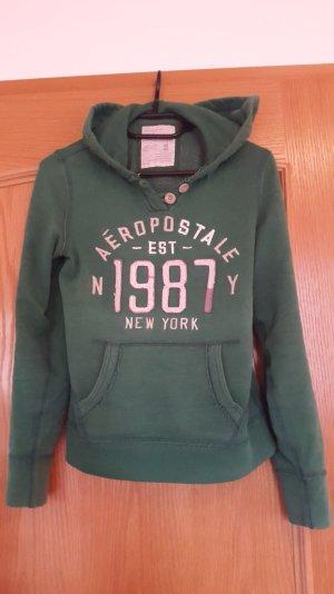 grüner Hoodie von Aeropastale