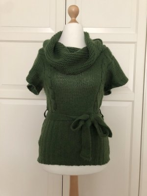 Promod Short Sleeve Sweater forest green