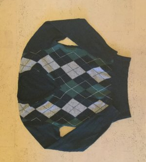 Benetton Maglione di lana multicolore Lana