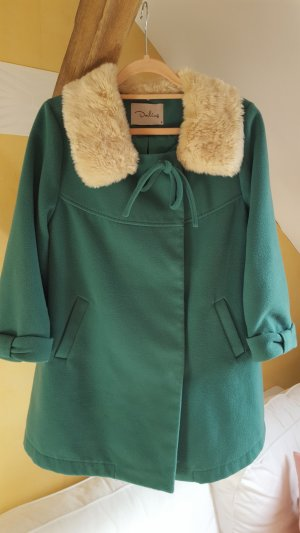 Short Coat forest green