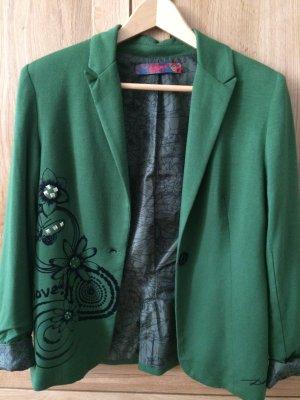 Grüner leichter Blazer