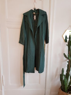 grüner mantel One size