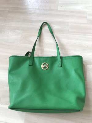 Grüner Michael Kors Shopper
