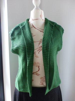 Monari Boléro en tricot vert laine vierge