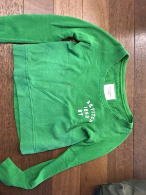 Abercrombie & Fitch Pull oversize vert