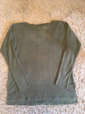 Grüner Pullover Jean Pascale Größe M