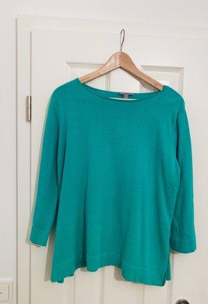 COS Kraagloze sweater munt Katoen