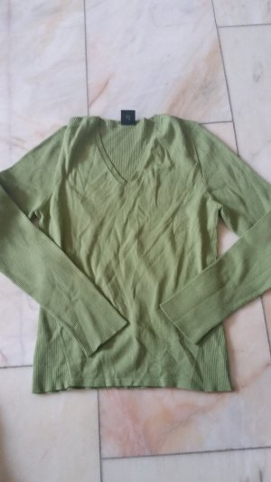 One Touch V-Neck Sweater green
