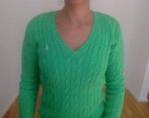 grüner Pullover von Ralph Lauren Sport, neu, Größe S
