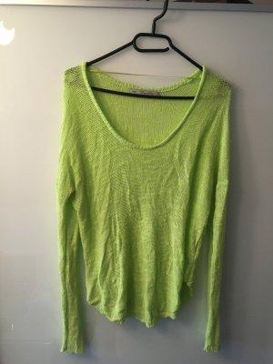 Grüner Pullover Zara