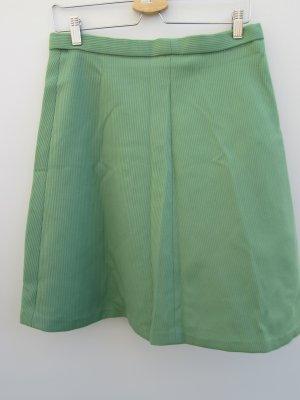 Vintage Jupe asymétrique vert