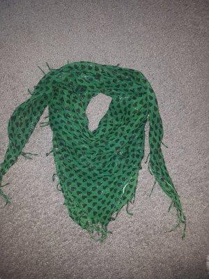 grüner Schal