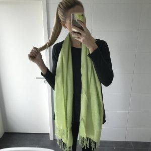 grüner Schal / Tuch groß