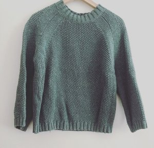 Grüner Sommersweater aus Baumwolle