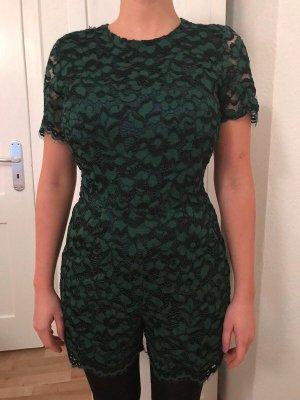 Grüner Spizen-Overall von Zara