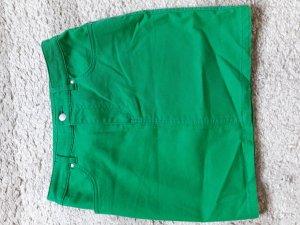 H&M Spijkerrok bos Groen-groen Katoen