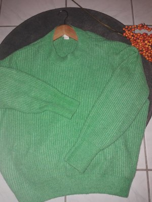 Grüner Strick Pullover