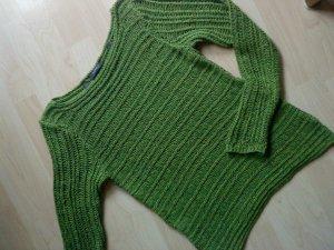 grüner Strickpullover von Esprit in Größe L