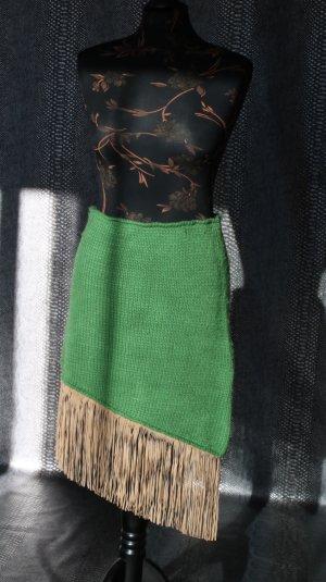Jupe tricotée multicolore