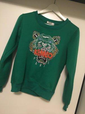 Grüner Tiger Pulli Kenzo