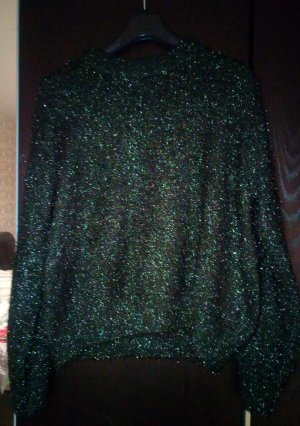 H&M Oversized Sweater dark green-forest green