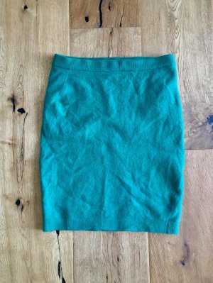 Wool Skirt green-forest green
