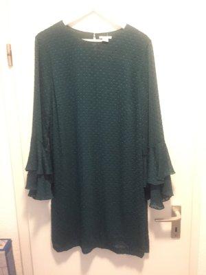 Grünes A-Linien Kleid