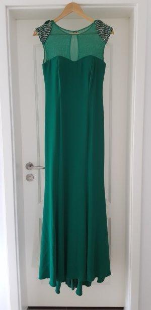 Vestido de noche verde Poliéster