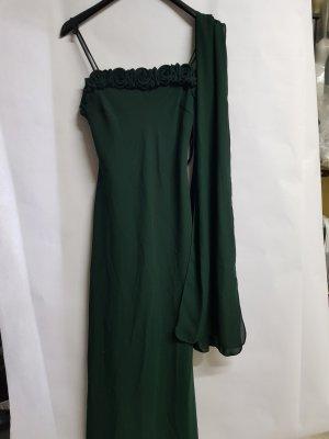 grünes abendkleid von unique gr. s kleid