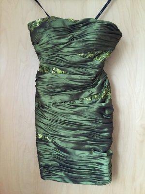 grünes Ballkleid, festliches Kleid,34 - wie neu!!