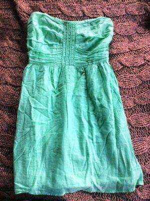 grünes Ballonkleid Gr m von Zara