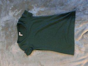 grünes Basic Shirt