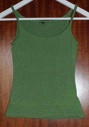 grünes Basic-Top von H&M