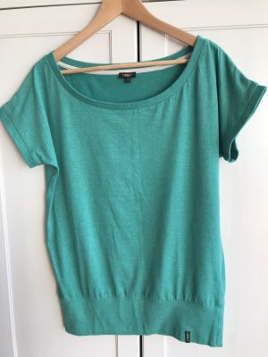 Grünes Baumwollshirt in Größe L