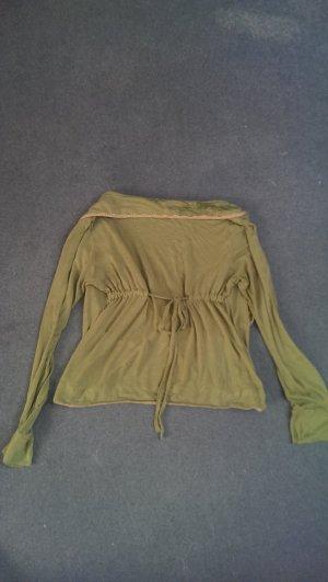 Blutsgeschwister Sweatshirt vert gazon coton