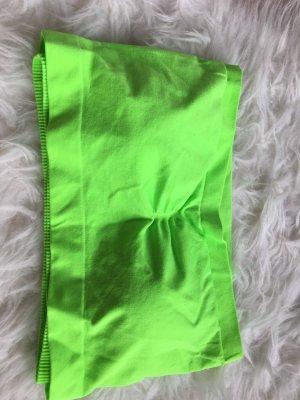 grünes Bustier von PIECES