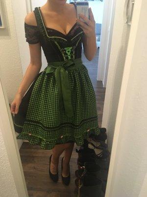 Stockerpoint Dirndl noir-vert