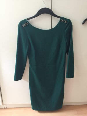 Grünes elegantes Kleid