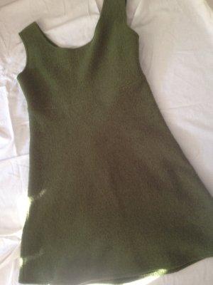 grünes Filzkleid Größe 38