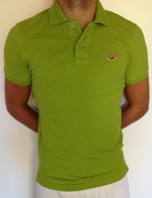 Hollister Polo vert-vert fluo