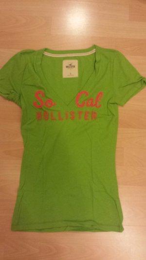 Grünes Hollister Shirt