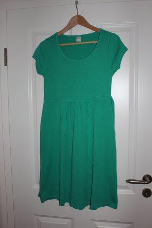 grünes Kleid mit kurzarm, Gr.38