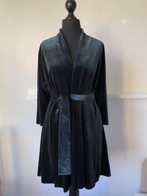 Grünes Kleid / Samtkleid