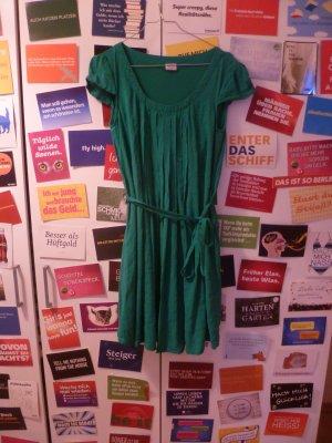 Grünes Kleid von Esprit, Sommer, Strand, Blogger, Boho, Basic