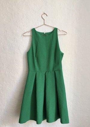 Zara Cut out jurk groen