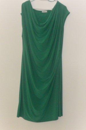 grünes Kleid, Wasserfall Dekollete, absolutes Must Have